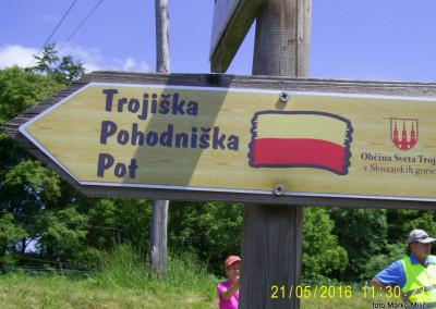 DAN POMURSKIH PLANINCEV – Sv. Trojica v Slovenskih goricah, 21. maj 2016 (foto Marko)