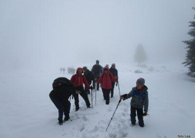 101 na poti od Doma na Menini na vrh Vivodnik, 12.50