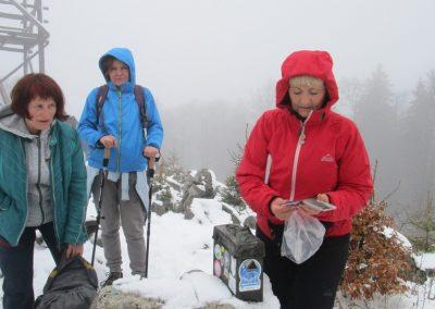 106 vrh Vivodnik, 1508m, 12.39