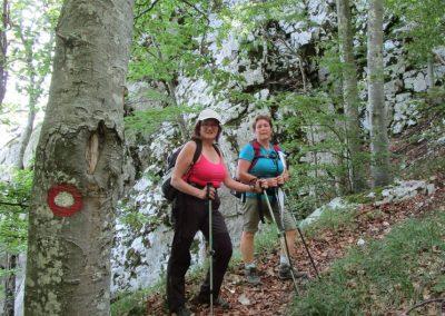022 VELEBIT, vzpon na Konjevaćo 1381m, 9.53