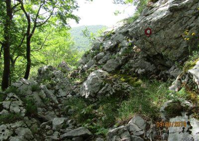 028 VELEBIT, vzpon na Konjevaćo 1381m, 10.11