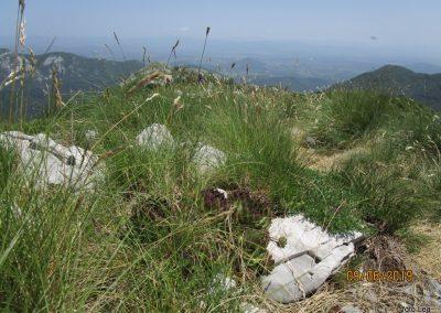 083 VELEBIT, na vrhu Konjevaće 1381m, 12.22