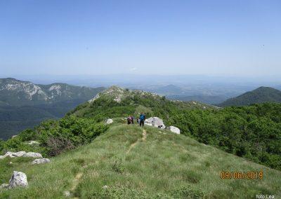 084 VELEBIT, na vrhu Konjevaće 1381m, 12.23