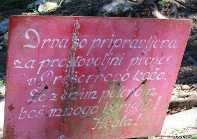 22 VZPON NA STOL, z Zabreške planine na Stol, 10.04