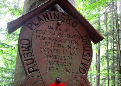 09 LOBNICA-ŠUMIK-AREH, v soteski potoka Lobnica, 9.42