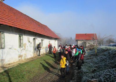39 POHOD V NEZNANO - 8. december 2019, rojstna hiša dr. Karla Grossmana v Drakovcih, 9.55