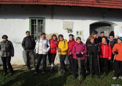 43 POHOD V NEZNANO - 8. december 2019, rojstna hiša dr. Karla Grossmana v Drakovcih, 9.59
