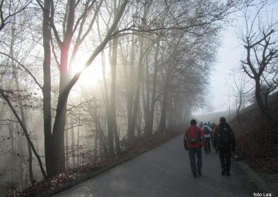 68 POHOD V NEZNANO - 8. december 2019, na poti od turistične kmetije Vrbjak do gostišča Žinko v Moravcih, 12.38