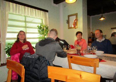 73 POHOD V NEZNANO - 8. december 2019, v gostišču Žinko, 12.56